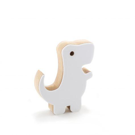Dinossauro Rex Branco