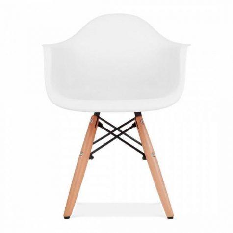 Cadeira Eames Infantil Braço Branca