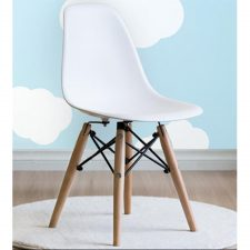 Cadeira Eames Infantil Branca