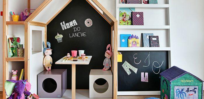 As melhores ideias de parede de giz em quarto infantil!