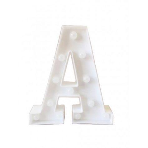 Letra Luminosa A