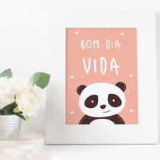 Quadro Bom Dia Vida – Arte Digital
