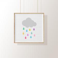 Arte Digital – Chuva de Arco-Íris
