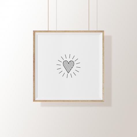 Arte Digital – O Coração