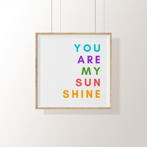 Arte Digital – You Are My Sunshine