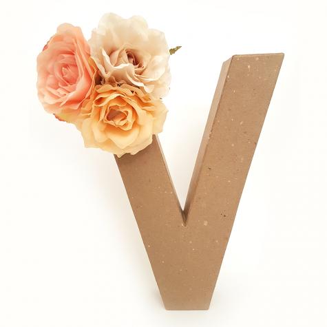 Letra Floral V